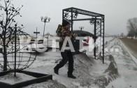 Грязный снег в подарок получили нижегородские влюбленные ко дню святого Валентина