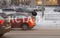 Ледяные дожди вывели из строя городские светофоры