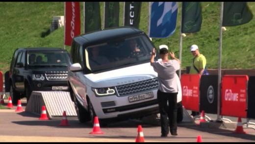 ОАО «Газпром нефть» Роуд-шоу Jaguar Land Rover