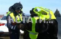 Сотрудники ГИБДД вывели на дороги праздничную артиллерию