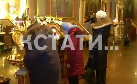 В преддверии дня Святого Валентина, в Нижний Новгород прибыл ковчег с мощами покровителей брака