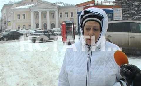 Не смотря на календарную весну, в городе бушует зимняя стихия