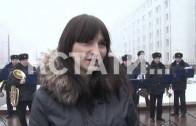 Серенаду в погонах у перехода метро исполнили нижегородские полицейские