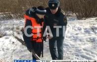 Школьникам пришлось спасать сотрудников МЧС из проруби