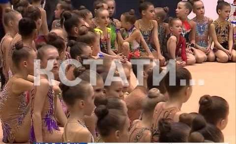 Более 400 гимнасток со всей России приняли участие в прошедших в Нижнем Новгорде сорвнованиях