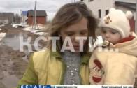 Грязевые реки, глиняные берега — программа развития села погрязла в грязи в Городецком районе