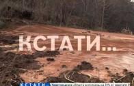 Погребенные под глиной — селевой сход в Подновье затопил уже более 20 домов