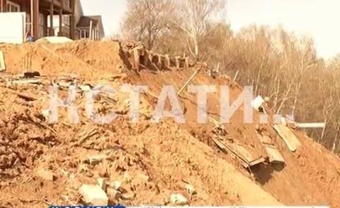 Селевой оползень побеждает жителей Подновья — им выдано предписание на выселение