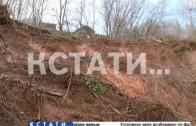 Селевой поток погубил огороды жителей Подновья