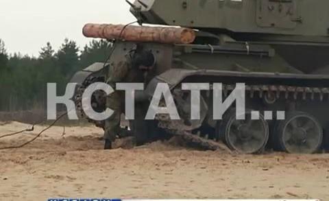 Выпускной залп — артиллеристы сдавали сегодня выпускной экзамен
