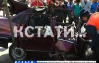 17 человек пострадали и 1 погиб в аварии на улице Белинского