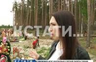 ЧП на Новосормовском кладбище — могилы уходят под землю, а усопших приходится хоронить в воду