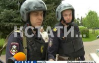 Дурнопахнущий пикет — одиночный пикет разгоняла сначала охрана, а затем полиция