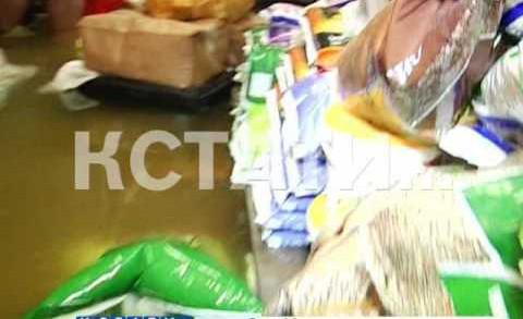 Горячий источник разрушительной силы забил в Приокском районе