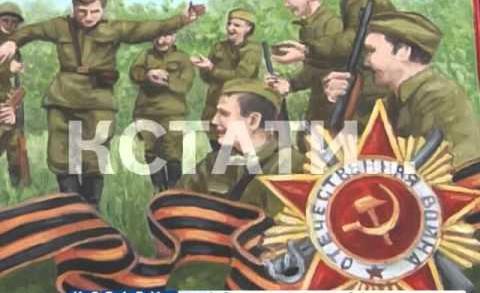 Победная хохлома — старинная роспись в честь праздника изменила окрас