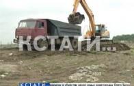 Показуха или забота о жителях — на Шуваловской свалке стали тушить пожары.
