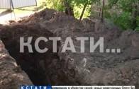 В западне, которую вырыли коммунальщики в центре Богородска, погиб человек.