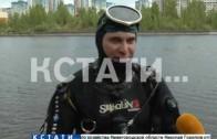 Водолазы чистят пляжи — нижегородские водоемы готовят к купальному сезону