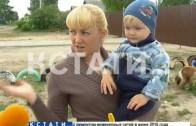 Детскую площадку в проезжую часть превратили в Сормовском районе