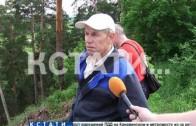 Оползень произошел сегодня около автомобильной трассы Дзержинск-Володарск