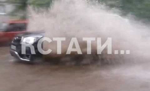 Штормовой ветер и ливни прервали жару в Нижегородской области