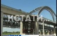 Дублер Борского моста примет первый транспорт уже до конца года