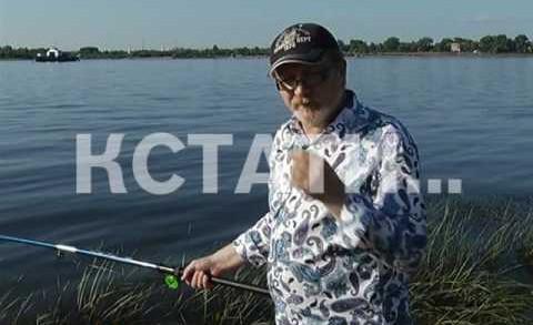 Главный и самый известный рыбак страны сегодня рыбачил на берегу Волги