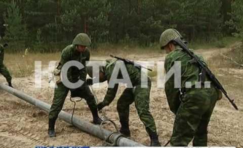 От теории к практике — курсанты военной кафедры сразу оказались на поле боя