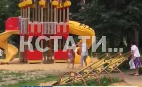 Сошлись в рукопашную — две мамочки подрались на детской площадке