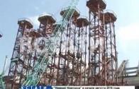 Строительство стадиона «Нижний Новгород» подошло к своему экватору