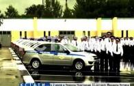 Творческий подход в поздравлении коллег проявили полицейские