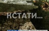В Подновье, где сошел сильнейший оползень, начались восстановительные работы