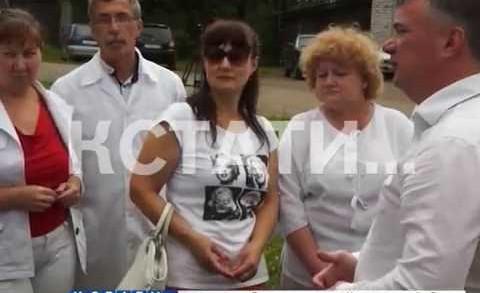 Врачебный десант высадился в Тоншаевском районе