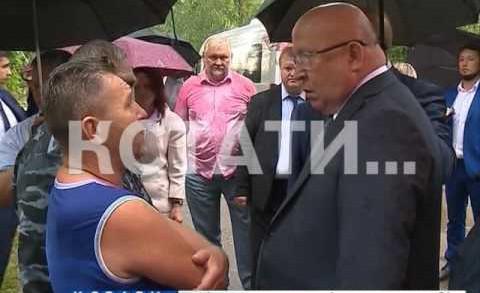 Губернатор поставил задачу к началу сентября обеспечить чистой водой дома в Истомино