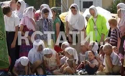 Патриарх Московский и всея Руси Кирилл провел в Дивееве праздничную литургию