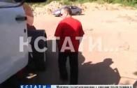 Ассенизаторы-нелегалы превратили окраину Автозаводского района в сливную яму.