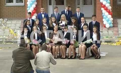 Первая из ста запланированных к строительству школ открылась в Нижегородской области