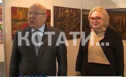 В Нижнем Новгороде открылась выставка «Арт-россия-2016»