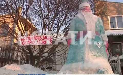 Главный герой грядущих праздников поселился в Дзержинске