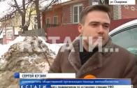 На нижегородских улицах продолжают расти сугробы