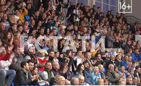 Нижегородские баскетболисты встретились с белорусской командой «Цмоки» из Минска