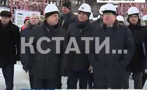 Ход подготовки Нижнего Новгорода к чемпионату мира по футболу оценил Виталий Мутко