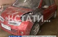 Бандитские разборки с властью — преступники сожгли автомобиль начальнику отдела администрации
