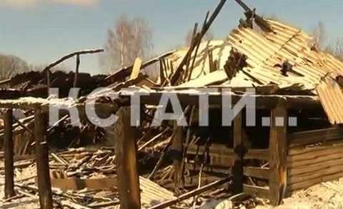 Огонь лишил семью, воспитывающую 21 ребенка средств к существованию.