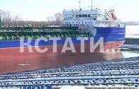 Танкер-самоход спущен на воду в Нижнем Новгороде