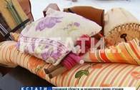 Жителей Дзержинска запустили в треснувший дом, чтобы забрать вещи
