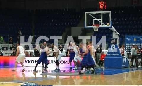 БК «Нижний Новгород» уступил одной из самых титулованных российских баскетбольных команд