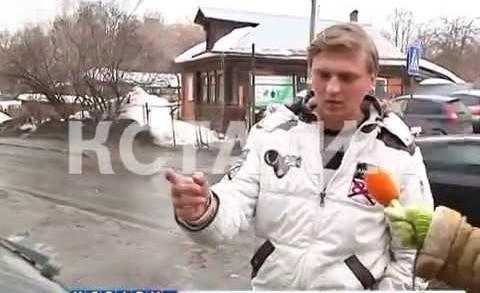 Городская бомбежка — резкое потепление обрушило снежные глыбы на головы нижегородцев