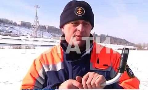 Спасатели открыли сезон выездных лекций на льду