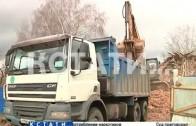 Бульдозером по памятнику архитектуры ударили в Балахне